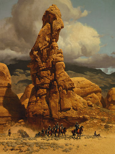 Frank McCarthy Patrol at Broken Finger