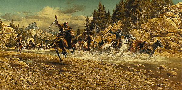 Frank McCarthy The Last Crossing