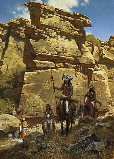 Frank McCarthy Under the Ancient Sun Sign