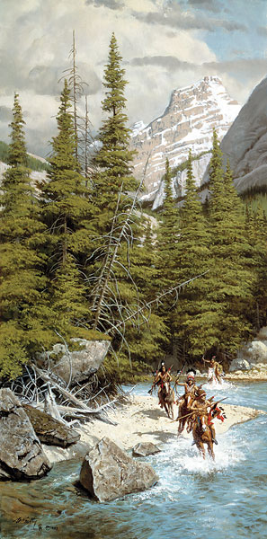 Frank McCarthy Warriors of the Northern Mountians