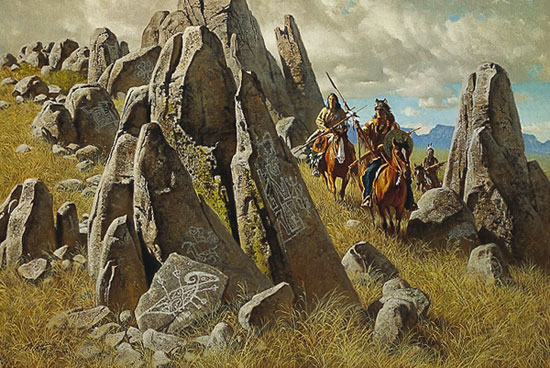 Frank McCarthy Where Ancient Ones Had Hunted