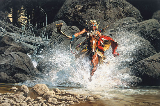 Frank McCarthy Whirling, He Raced to Meet the Challenge
