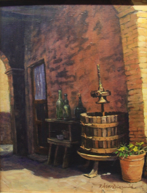 Richard Mcdiarmid The Old Wine Press