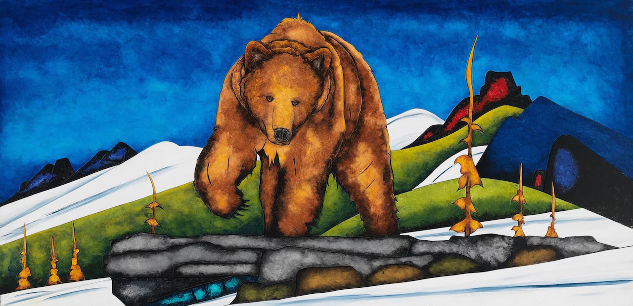 Fraser McGurk Bear 64 Lake Louise