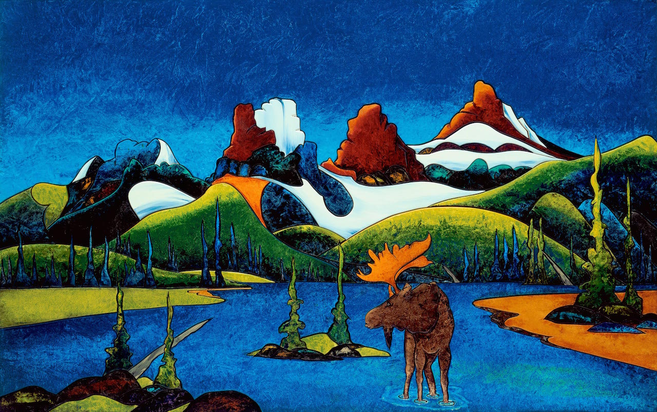 Fraser MCgurk Moose and Three Sisters