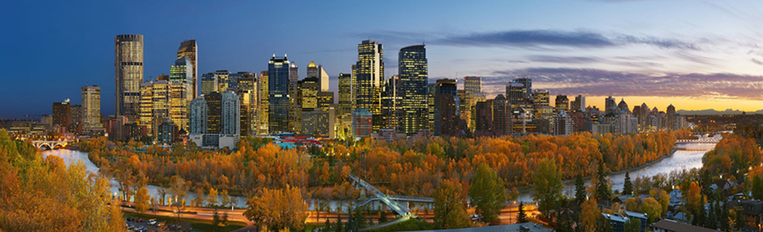 Doug Morgan Calgary Skyline