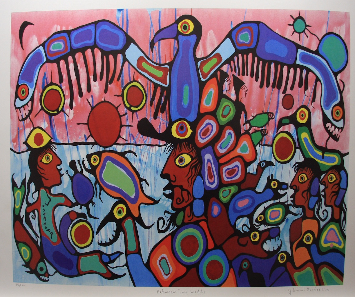 Norval Morrisseau Between Two Worlds