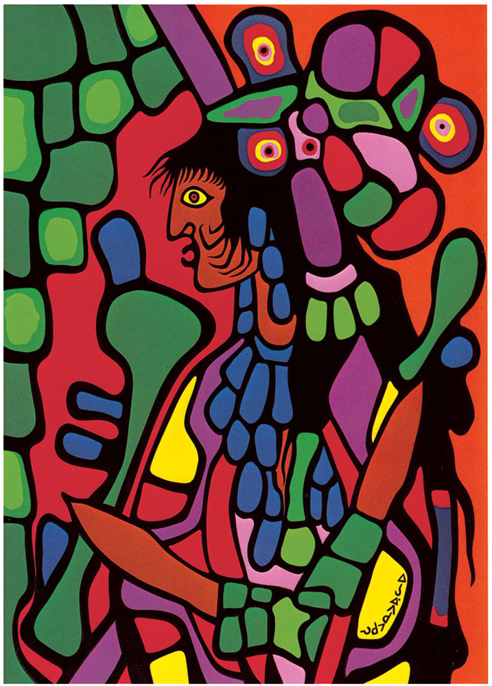 Norval Morrisseau Great Mother