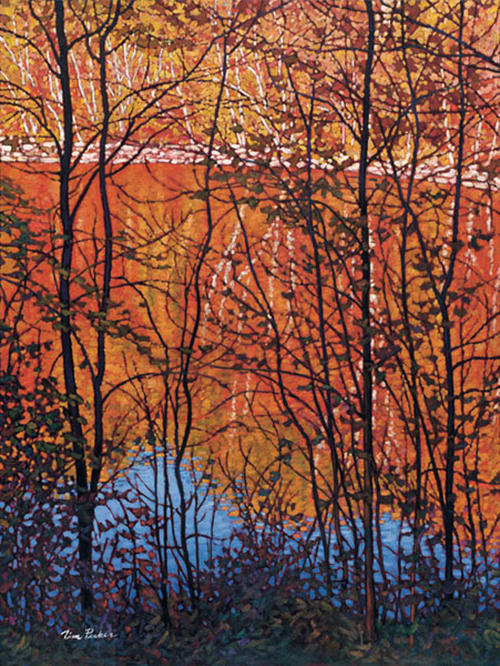 Tim Packer Reflections Of Autumn