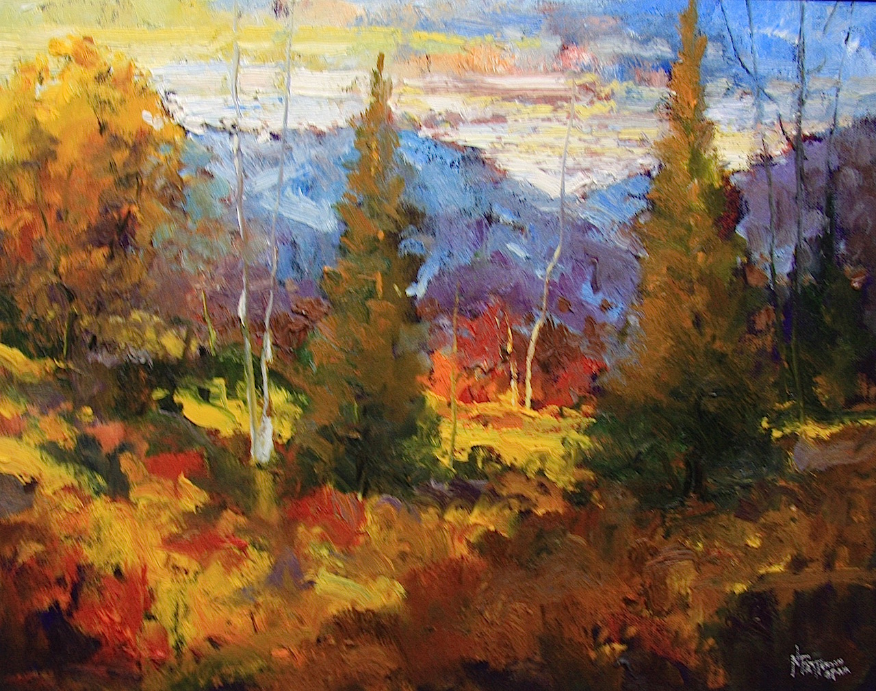 Neil Patterson Fall Bragg Creek