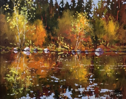 Neil Patterson Fall Reflections