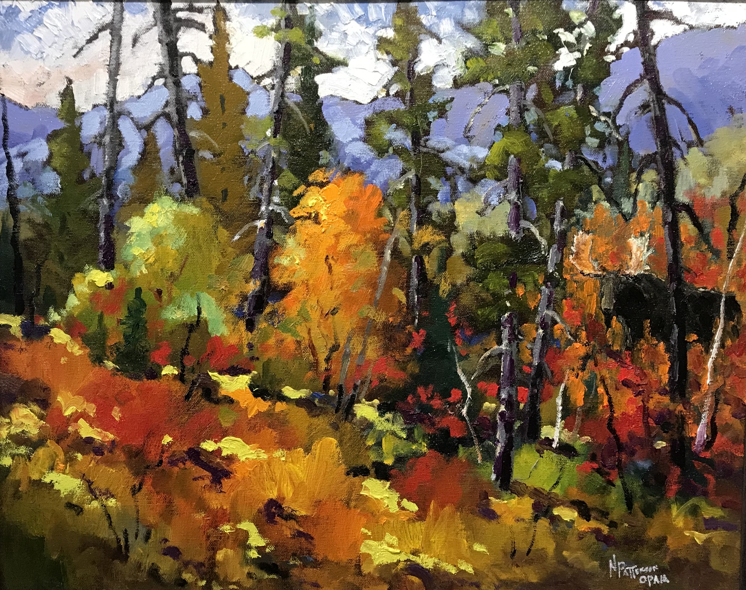 Neil Patterson Fall Trees & Moose