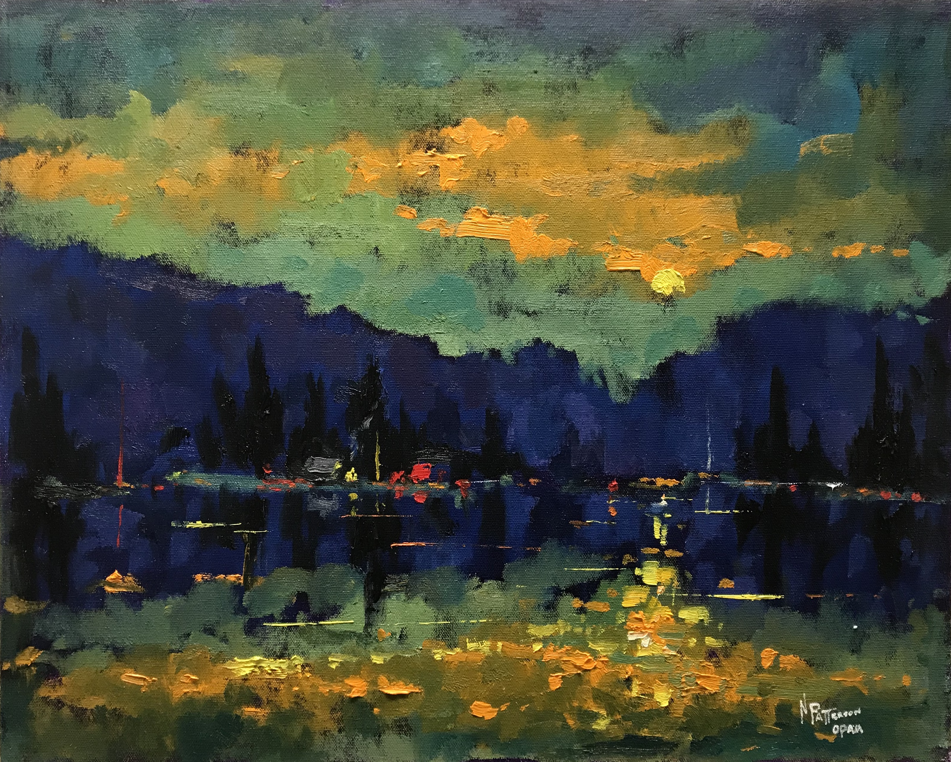 Neil Patterson Light On The Lake