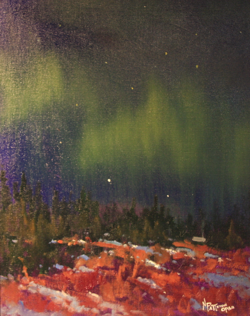 Newil Patterson Northern Lights