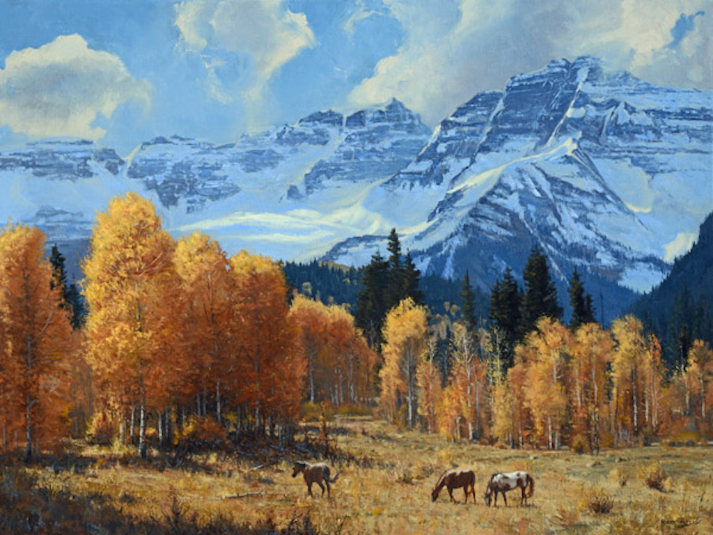 Robert Peters Colorado Giclee Canvas