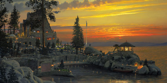 William Phillips An Evening to Remember at Thunderbird Lodge, Lake Tahoe
