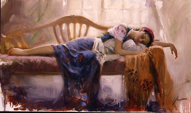 Pino Daeni At Rest