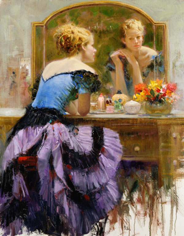 Pino Dangelico By The Mirror