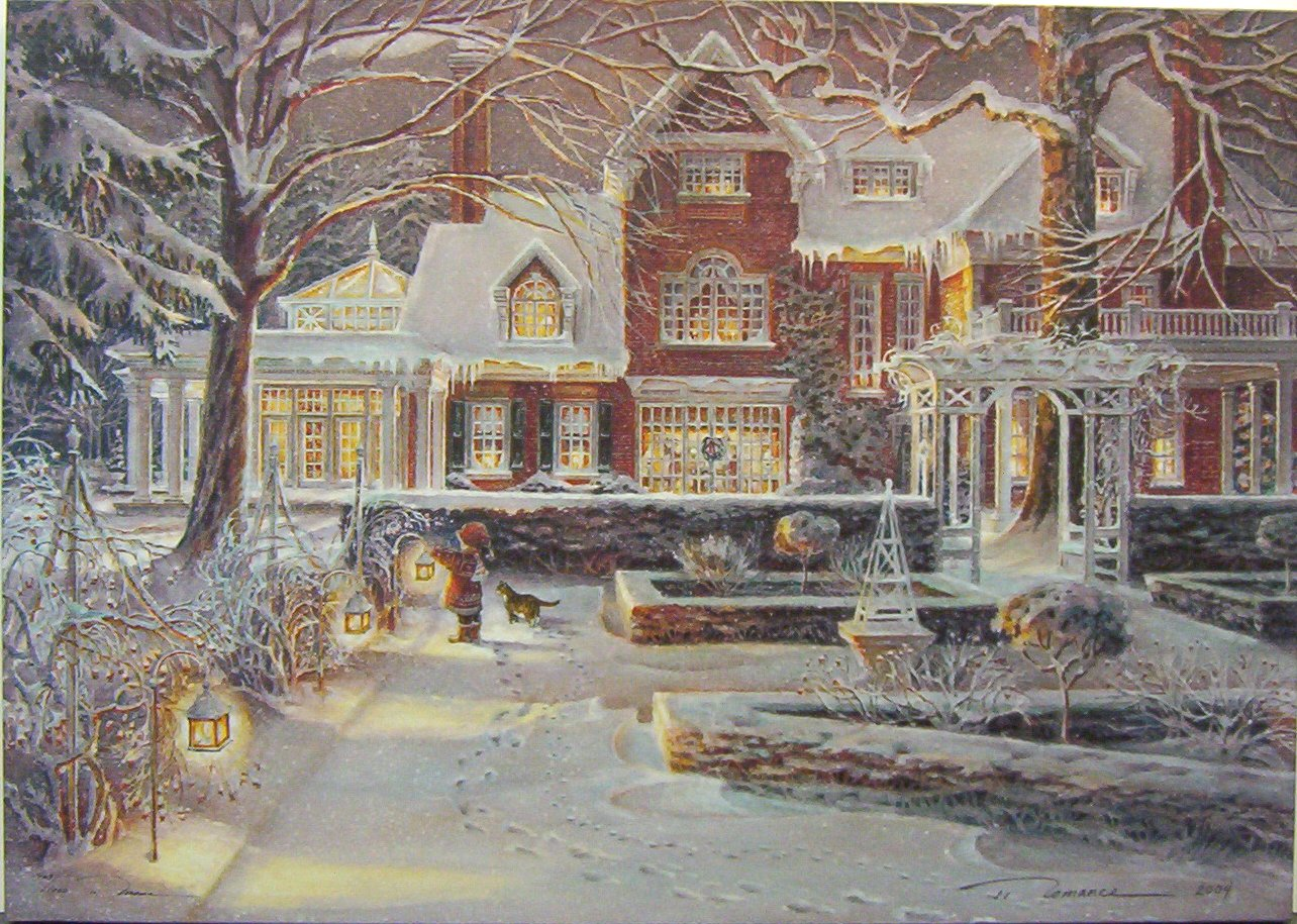 Art country canada trisha romance world 39 s most for Christmas images paintings