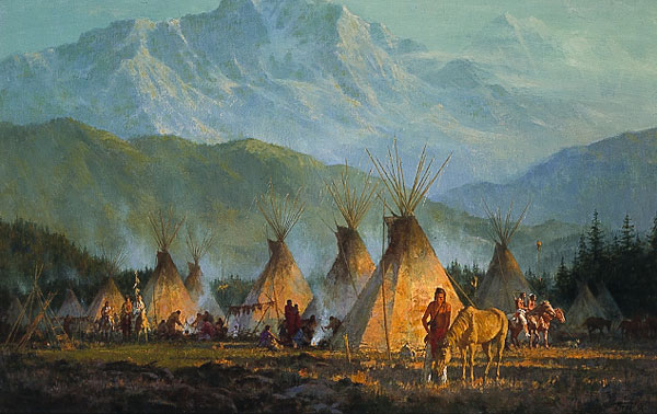 Terpning - Crow Camp 1864