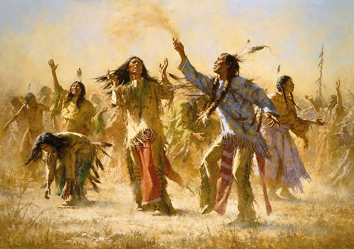 Howard Terpning Hope Springs Eternal