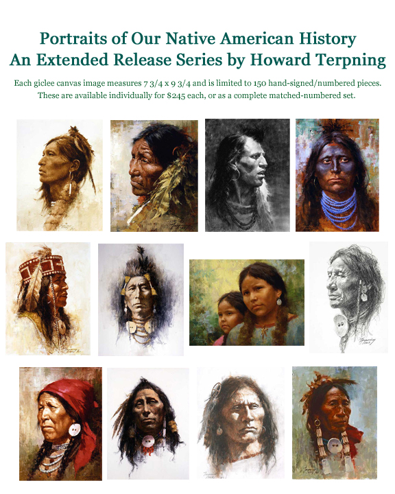 Howard Terpning A New Beginning