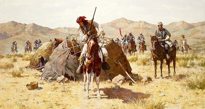 Howard Terpning The Second Geronimo Campaign