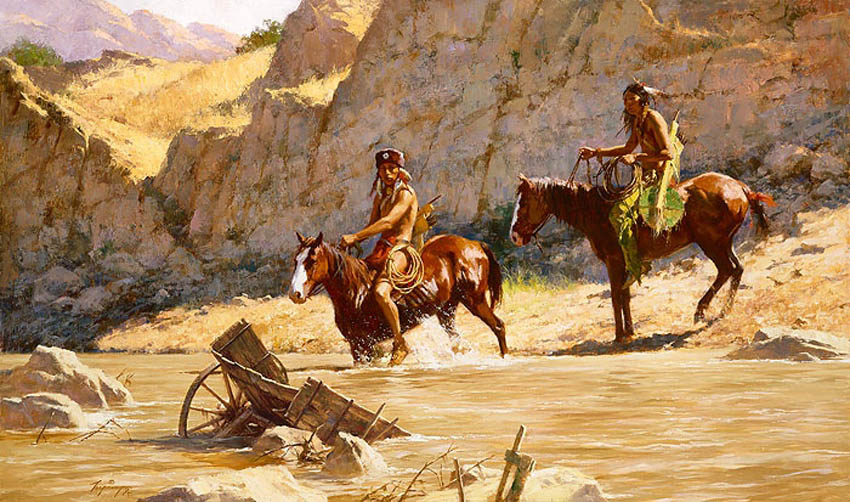 Howard Terpning The Rivers Gift