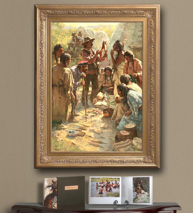 Howard Terpning Tribute To a Plains People
