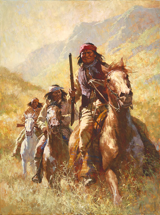 Howard Terpning Legend Of Geronimo