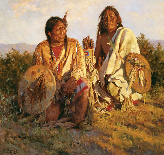 Howard Terpning Medicine Shields of the Blackfoot
