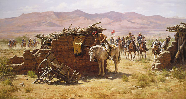 Howard Terpning Search for the Renegades