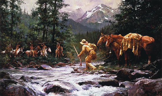 Howard Terpning - They Came From Nowhere