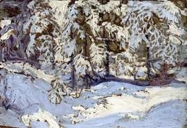 Tom Thomson First Snow In Autumn