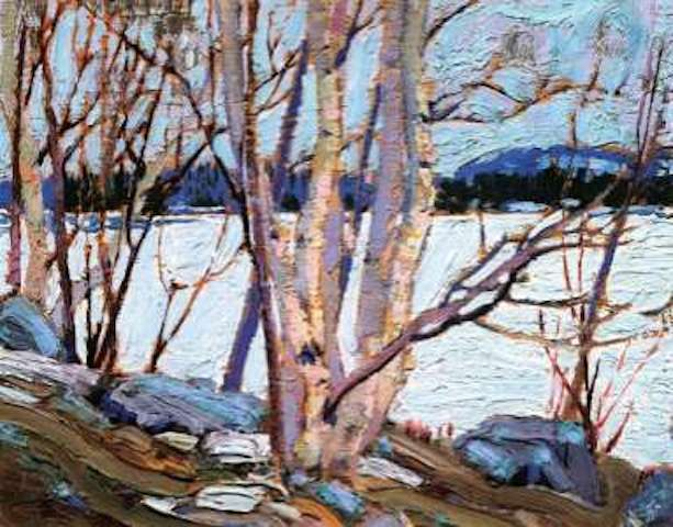 Tom Thomson An Ice Covered Lake