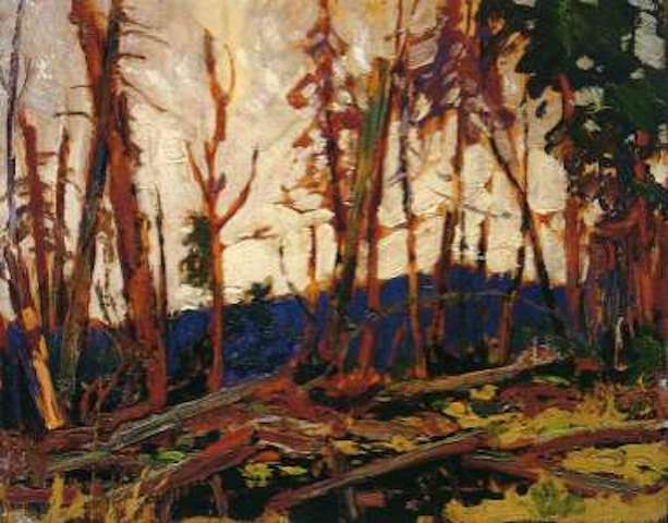 Tom Thomson Burnt Country