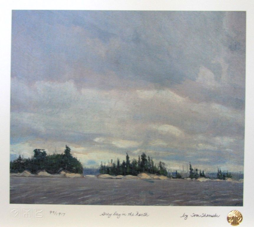 Tom Thomson Grey Day In The North