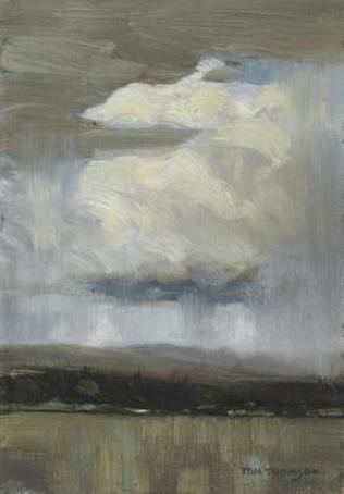 Tom Thomson Landscapes With  Storm Clouds