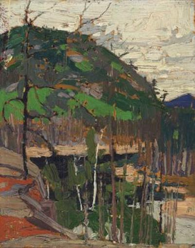 Tom Thomson Rounded Hill And River