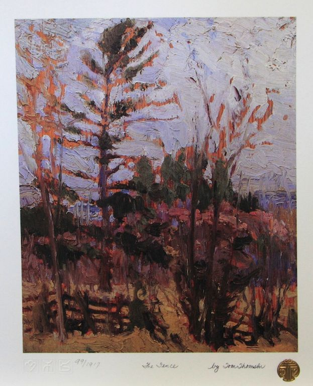 Tom Thomson The Fence