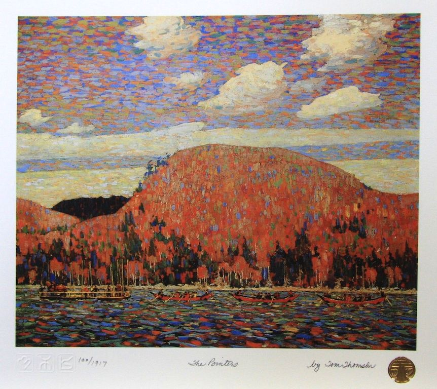Tom Thomson The Pointers