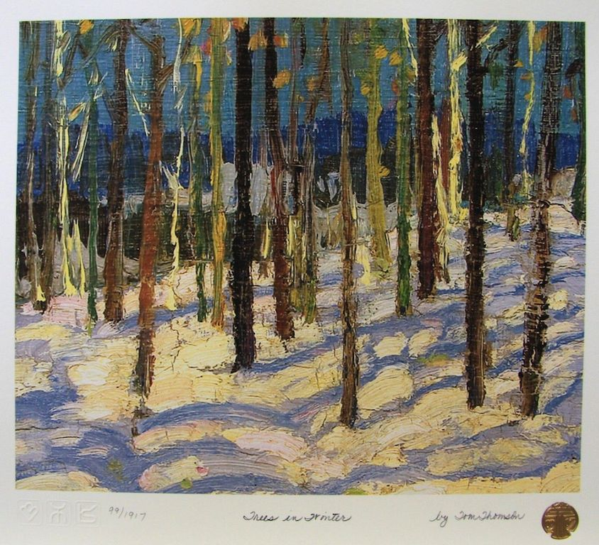 Tom Thomson Trees In Winter