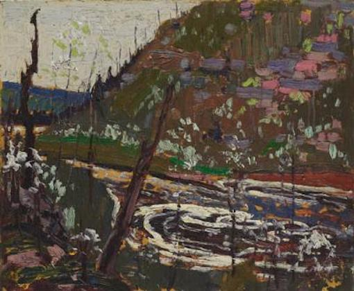 Tom Thomson Wild Cherry Tree In Blossom