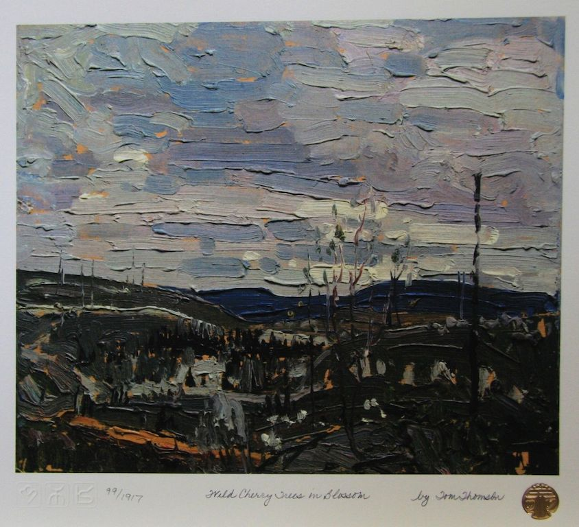 Tom Thomson Wild Cherry Trees in Blossom