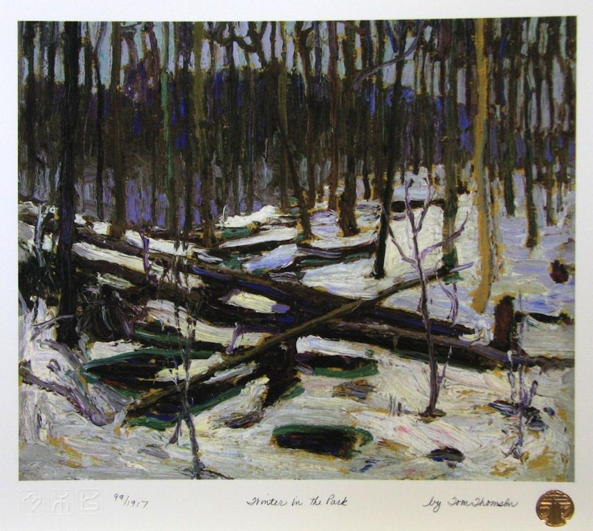 Tom Thomson Winter IN The Park