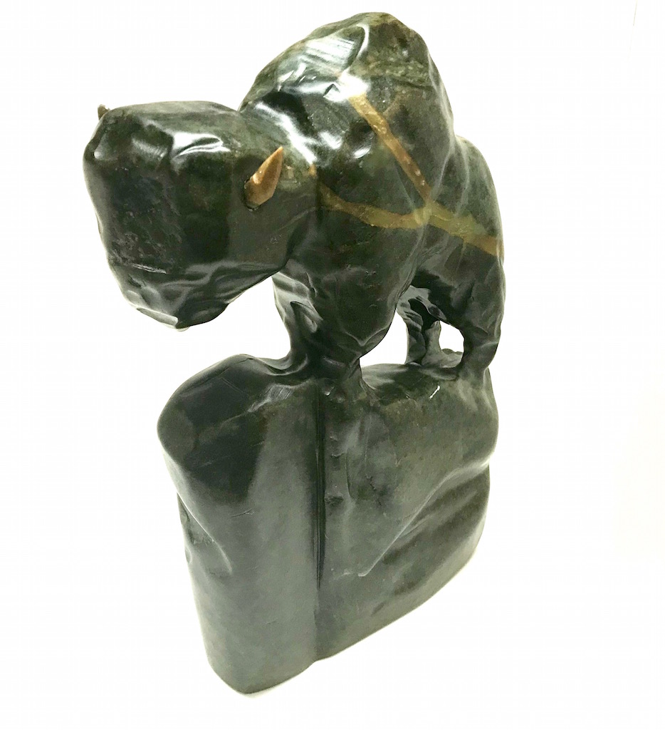 Mark Totan Bison Soapstone