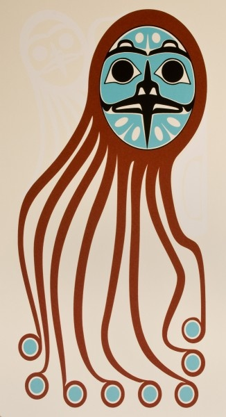 Roy Henry Vickers Octopus