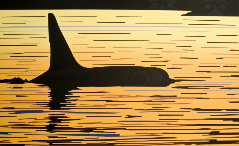 Roy Henry Vickers Orca Sunset