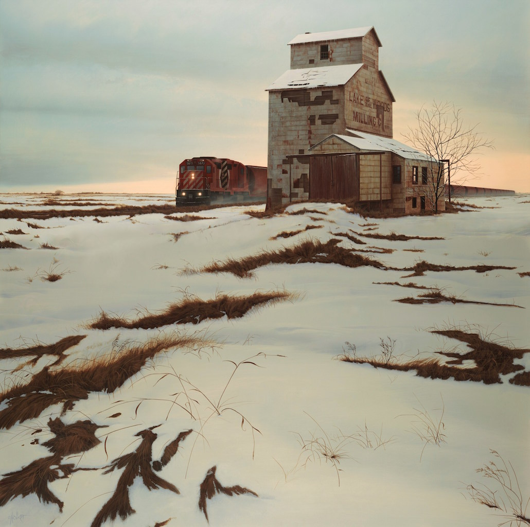 Christopher Walker Active Grain Elevator