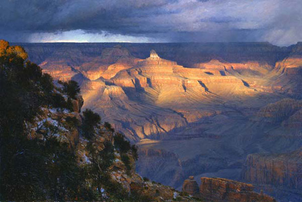 Curt Walters Suddenly Aglow Grand Canyon